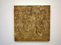'Cast II' 2011, Oil on Board, 45 x 45 cms