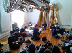 Schools Workshop and Gallery Tour, Shado
