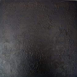 'Armour' 2007. Oil on board. 45 x 30cms
