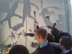 Story Shadow Puppets with CBS School, 6t