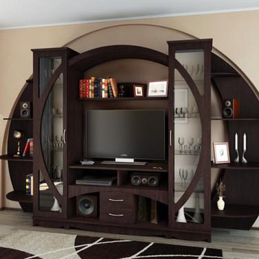Круглая мебель