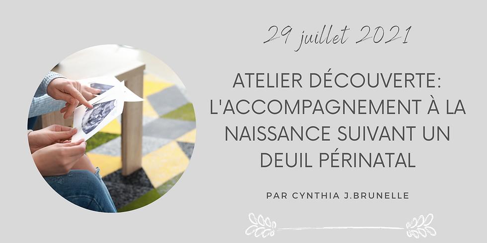 Atelier Découverte-L'accompagnement à la naissance suivant un deuil périnatal