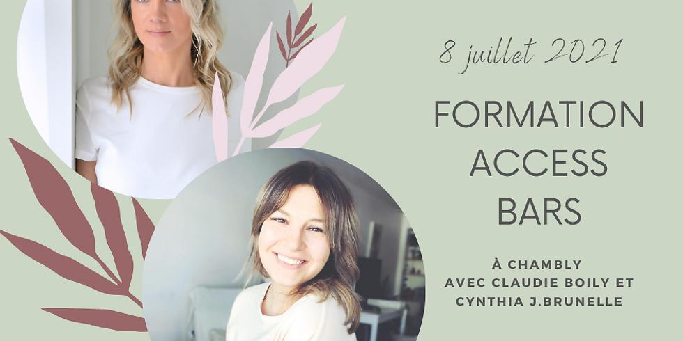 Formation certifiante Access Bars® avec Claudie Boily et Cynthia J.Brunelle