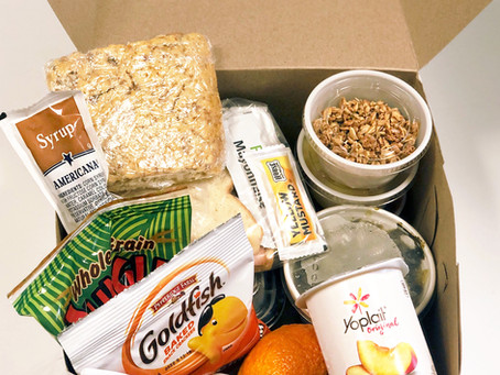 Give & Take Kitchen Serves Meal Boxes to Children to Reduce the Ecomonic Effects of COVID-19