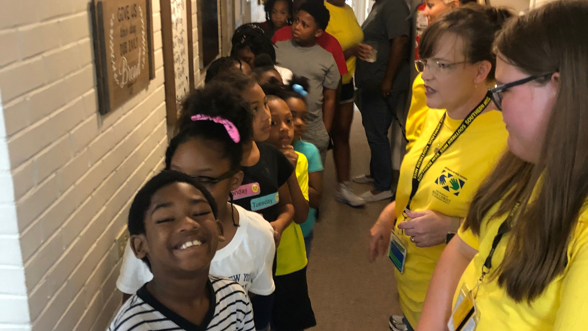 The kids from Boys & Girls Club were invited to the Give & Take Kitchen