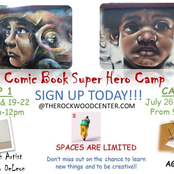 Comic Book Super Hero Camp