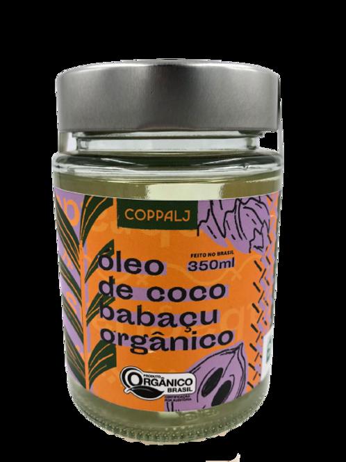 Óleo de Coco Babaçu Orgânico Refinado 350ml - COPPALJ