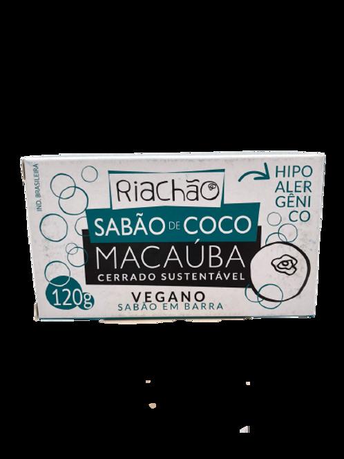 Sabão em Barra de Coco Macaúba 100g - COOPER RIACHÃO