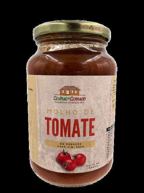 Molho de Tomate em Pedaços 580g - CENTRAL DO CERRADO