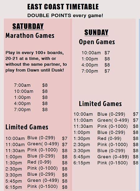 Longest schedule.JPG