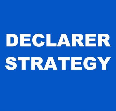 Declarer Strategy- Tricks to taking more Tricks (Jan-Mondays 2:30pm)