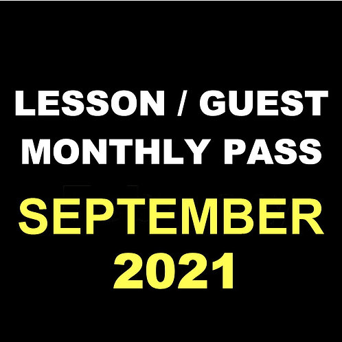 September Lesson /Guest Monthly Pass
