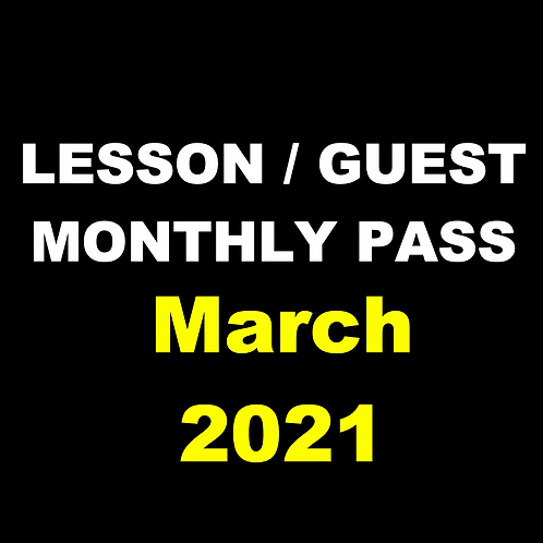 Lesson /Guest Monthly Pass