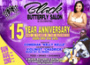 Come Celebrate with us Sunday August, 22 ,2021 Black Butterfly Salon Spa celebrate our 15yr