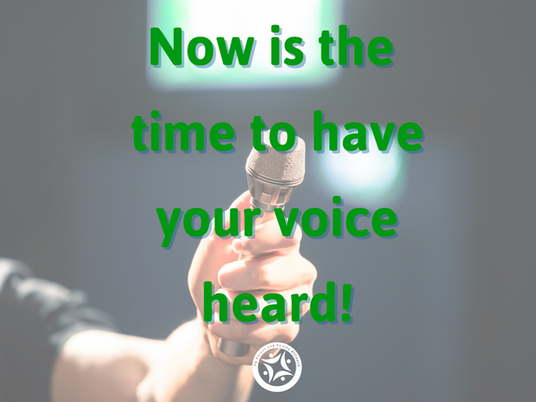 The Time is NOW to Share Your Story, and Opinions to be a Part of Real Systemic Changes in PA