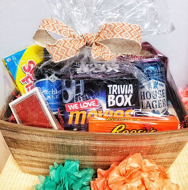 Fun and Games Craft Beer Gift Basket