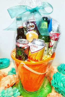 Life's a Beach Craft Beer Gift Basket
