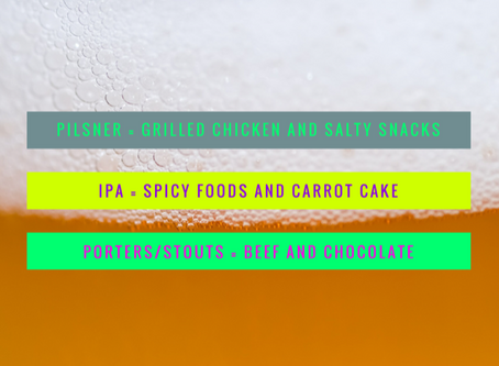Pair Your Craft Beer with Food