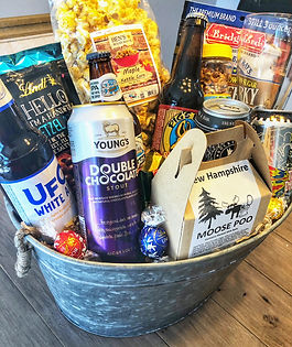 The Packie's Signature Craft Beer Basket