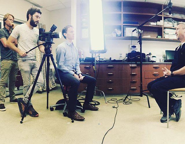 Video Shoot at Wake Med