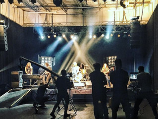 Music Video Shoot for Pantera's Rex Brown
