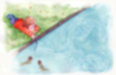 (2017) dibujando en el agua