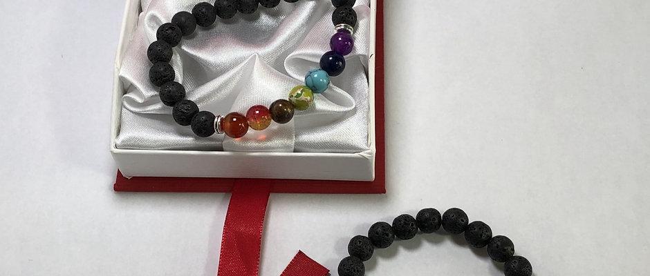 Set of 2 Lotus Chakra Bracelet