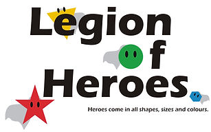 Legion of Heroes Logo with new Capes and