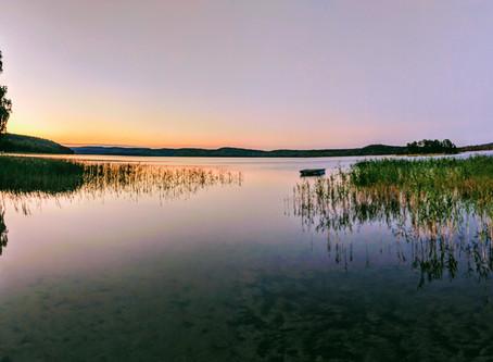From Äpplebo to the Lake Vänern