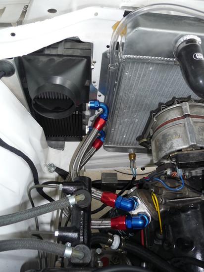 BMW 2002 Kühleranschluss
