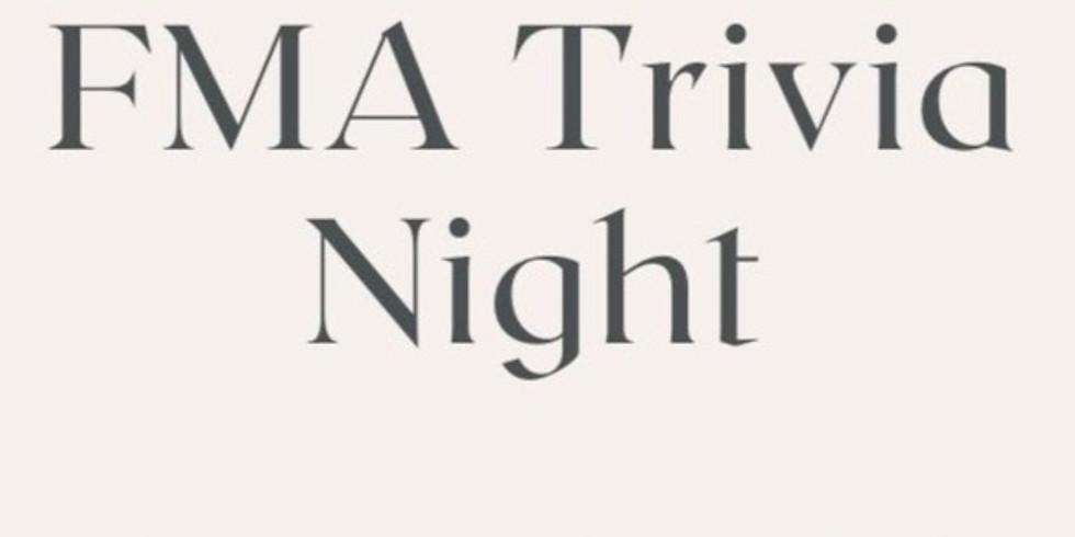 FMA Trivia Night/General Body Meeting