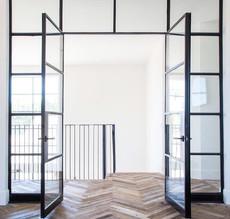 Steel Door Frame and Herribone Natural Floor.jpg