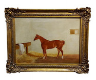 CHAIRISH - 19 Century Race Horse in a St