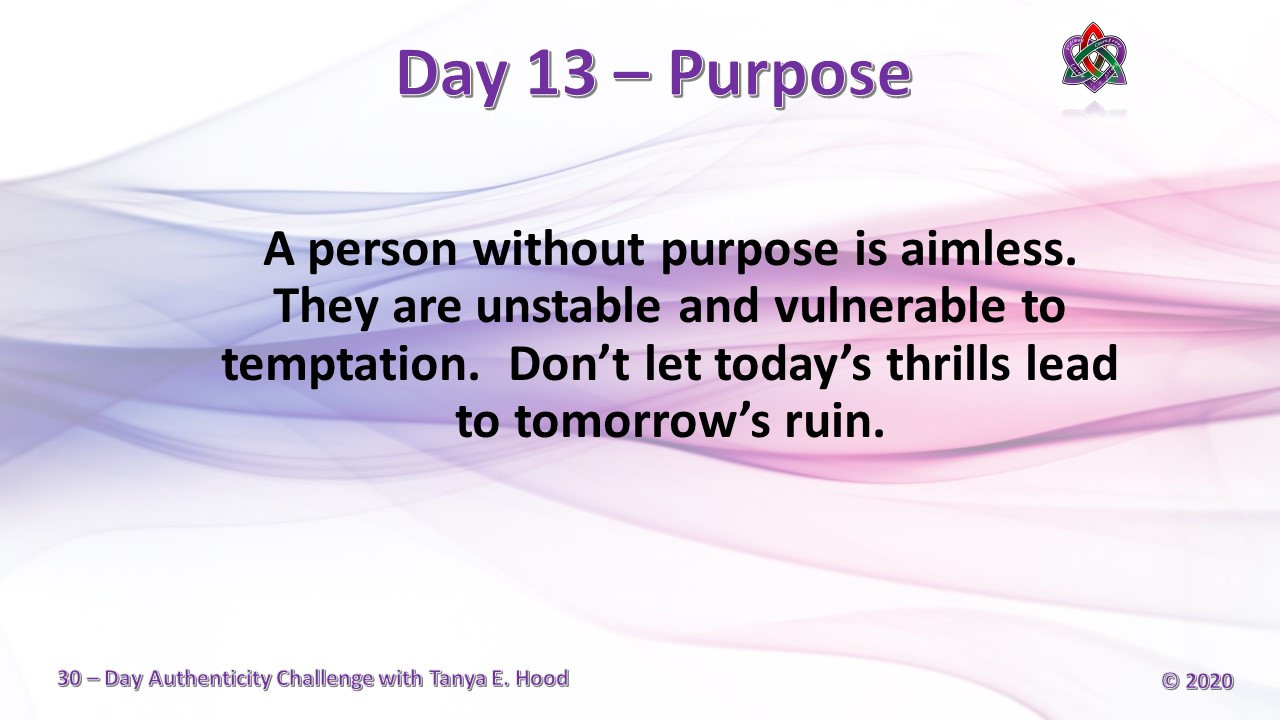 Day 13 - Purpose