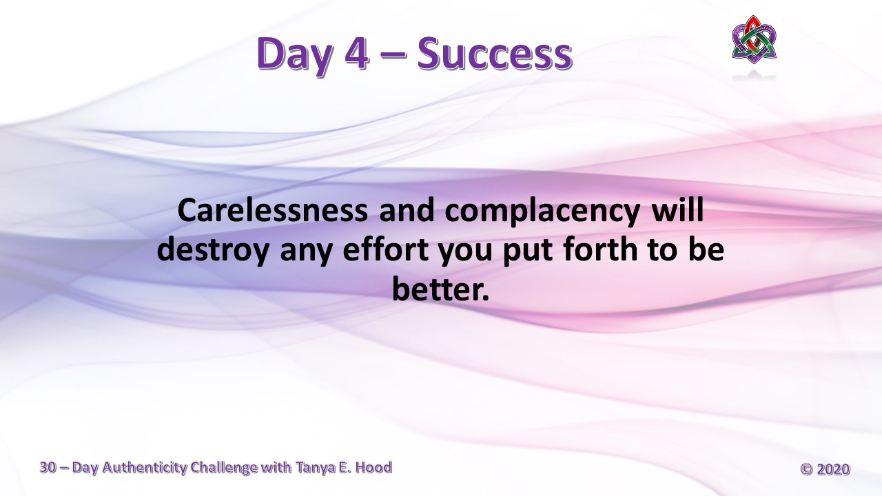Day 4 - Success