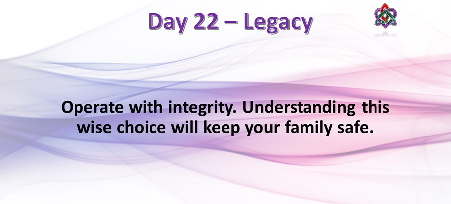 Day 22 - Legacy