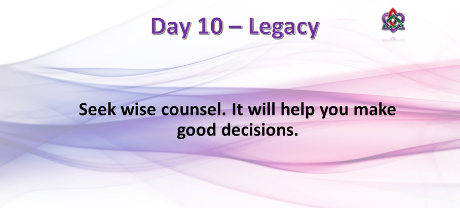 Day 10 - Legacy