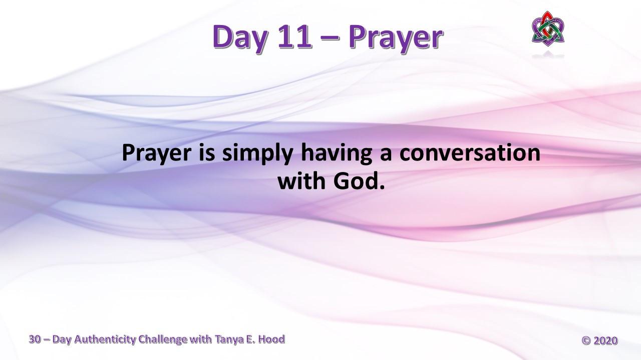 Day 11 - Prayer