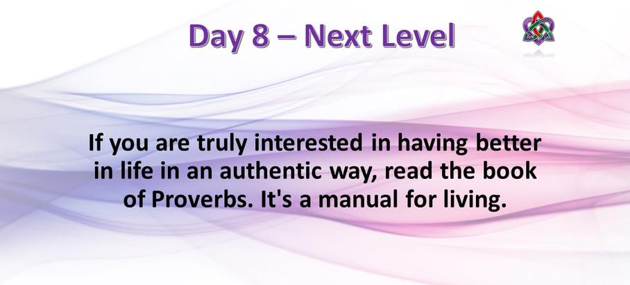Day 8 - Next Level
