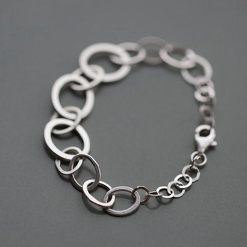 Silver Pebble Bracelet