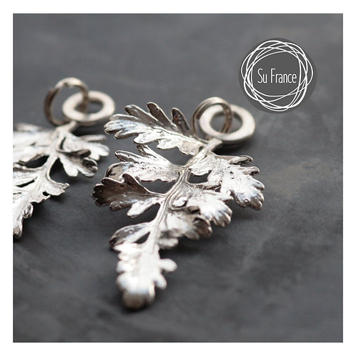 Fern Leaf Pendants