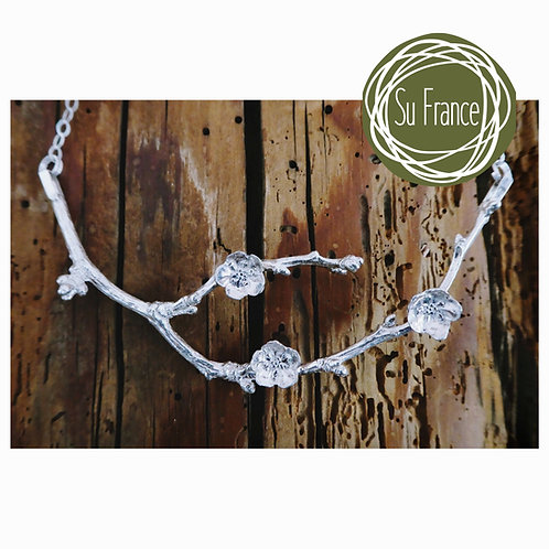 Blossom and Twig Necklace