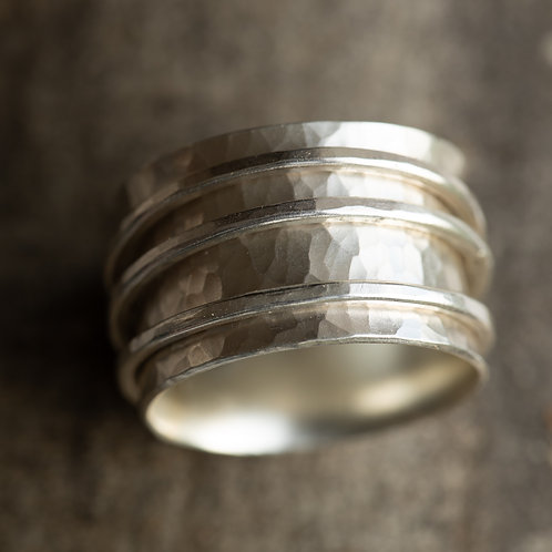 Textured Spinner Ring - reserved for FW