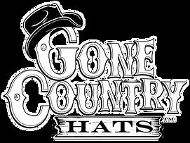 Gone Country Logo White lettering White