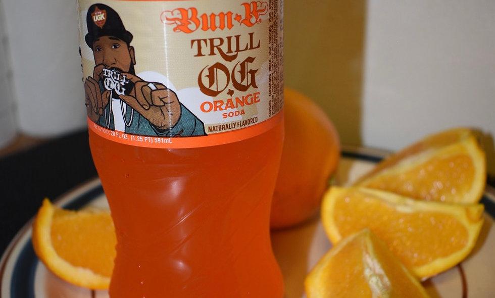 Bun B Trill OG Orange Soda Exotic Pop