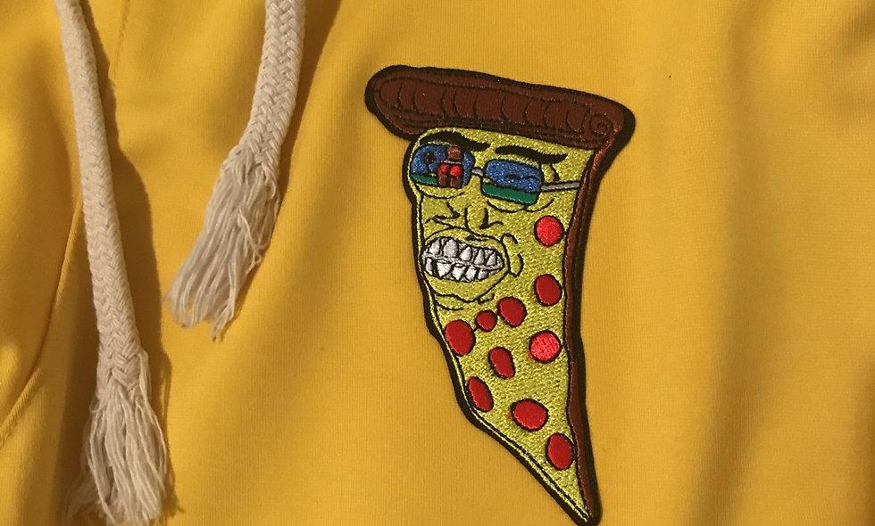Japanese Pizza x Gucci Yellow Joggers