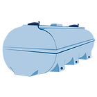 Allquip product icon: fibreglass water tank