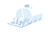 Allquip product icon: slide-in tank for tipper truck