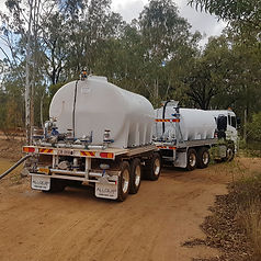 Allquip Water Trucks: dog trailer bulk water cart product example