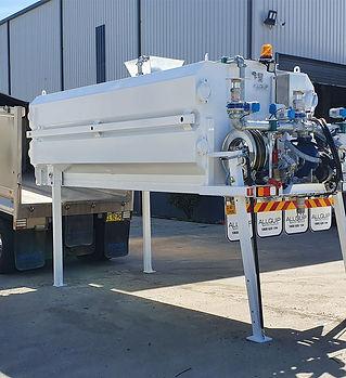 Case study: steel slide-in water tank